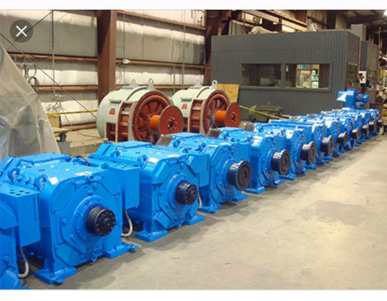 motor 752 of petroleum rigs