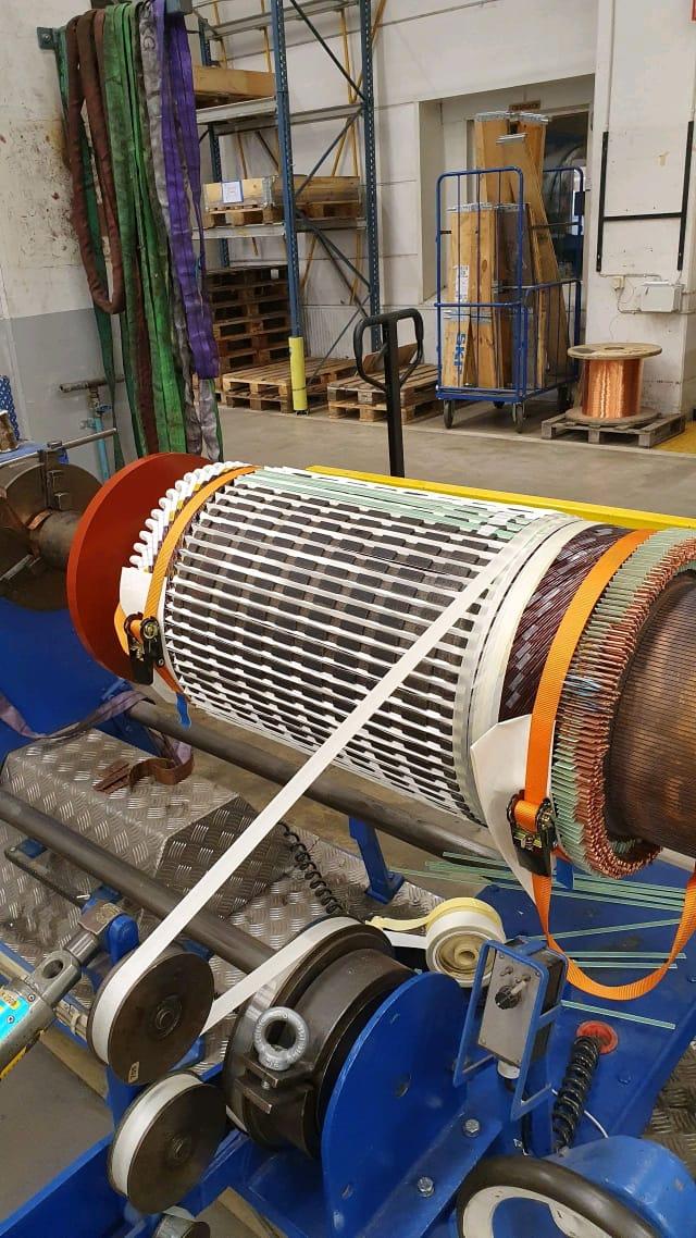 dc motor winding