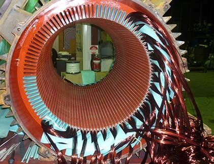 AC  motors maintenance and repair