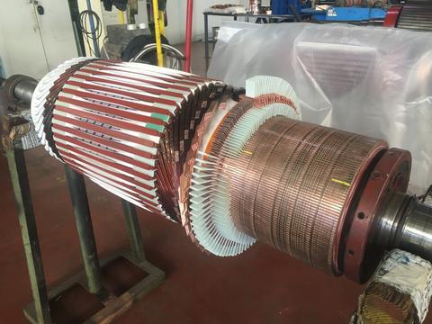 DC motors maintenance and repair